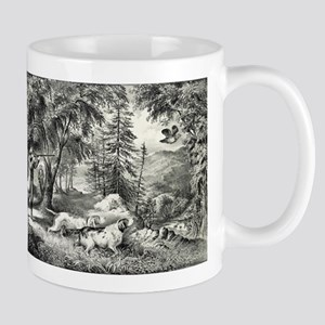 Partridge shooting - 1865 11 oz Ceramic Mug