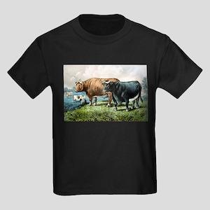 Prize fat cattle - 1856 Kids Dark T-Shirt