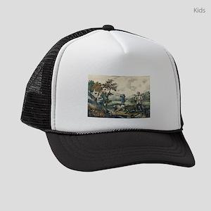 Quail shooting - 1907 Kids Trucker hat