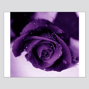 Purple Rose Small Poster
