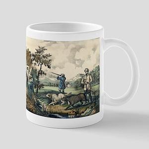 Quail shooting - 1907 11 oz Ceramic Mug