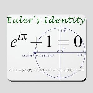 Euler's identity Mousepad
