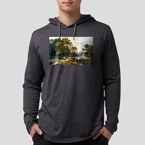 Summer morning - 1907 Mens Hooded Shirt