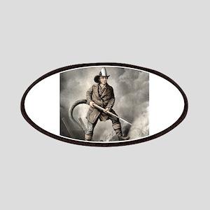 The American fireman - facing the enemy - 1858 Pat