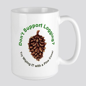 Anti Environmentalist Conservative Large Mug