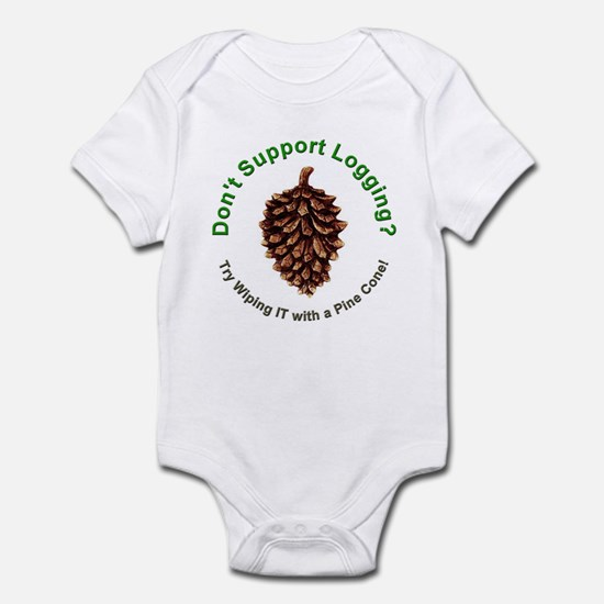 Anti Environmentalist Conservative Infant Bodysuit