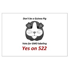 Yes on 522 Vote for GMO labeling Posters