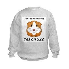 Yes on 522 GMO Labeling Sweatshirt