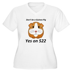 Yes on 522 GMO Labeling Plus Size T-Shirt