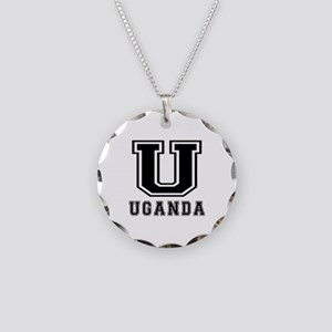 Uganda Designs Necklace Circle Charm