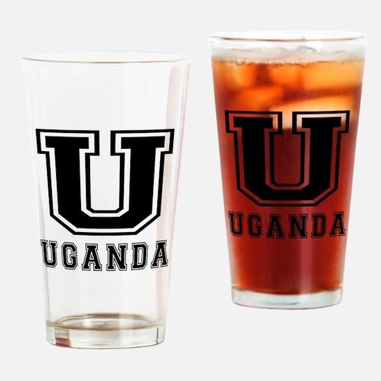 Uganda Designs Drinking Glass