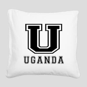 Uganda Designs Square Canvas Pillow