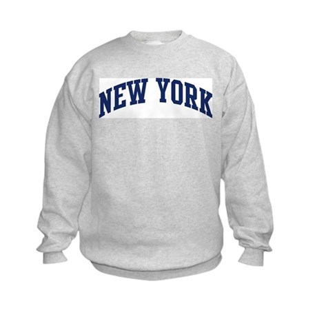 Blue Classic New York Kids Sweatshirt