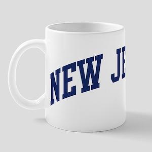 Blue Classic New Jersey Mug
