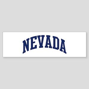 Blue Classic Nevada Bumper Sticker