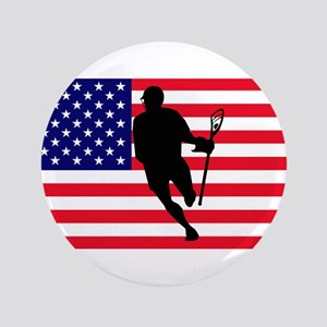 "Lacrosse_IRock_America 3.5"" Button"