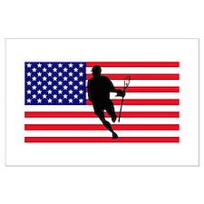 Lacrosse_IRock_America Posters
