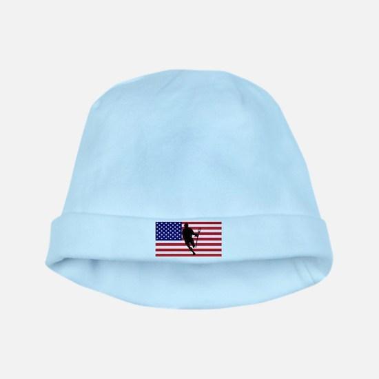 Lacrosse_IRock_America.psd baby hat
