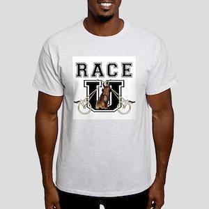 Race U Ash Grey T-Shirt
