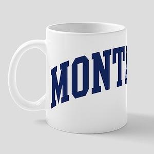 Blue Classic Montana Mug