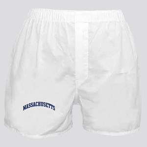 Blue Classic Massachusetts Boxer Shorts