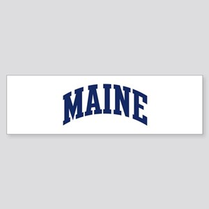 Blue Classic Maine Bumper Sticker