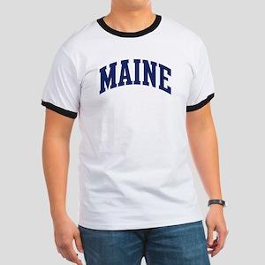 Blue Classic Maine Ringer T