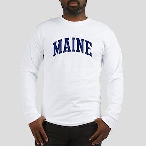 Blue Classic Maine Long Sleeve T-Shirt