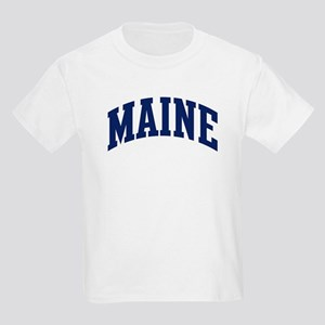 Blue Classic Maine Kids T-Shirt