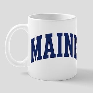 Blue Classic Maine Mug