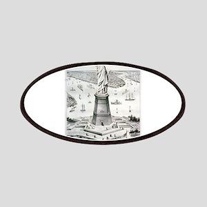 The great Bartholdi statue, Liberty enlightening t