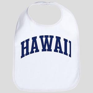 Blue Classic Hawaii Bib