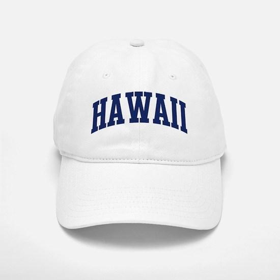 Blue Classic Hawaii Baseball Baseball Cap