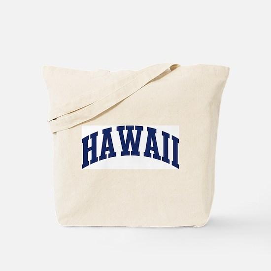 Blue Classic Hawaii Tote Bag