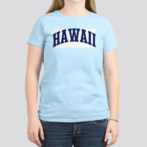 Blue Classic Hawaii Women's Pink T-Shirt