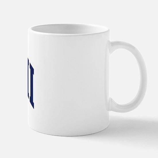 Blue Classic Hawaii Mug