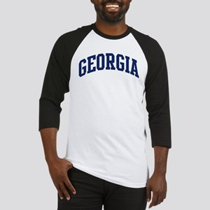 Blue Classic Georgia Baseball Jersey