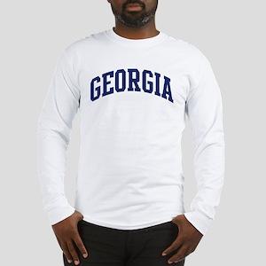 Blue Classic Georgia Long Sleeve T-Shirt