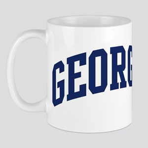 Blue Classic Georgia Mug