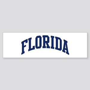 Blue Classic Florida Bumper Sticker