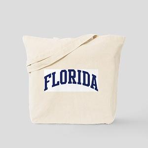 Blue Classic Florida Tote Bag