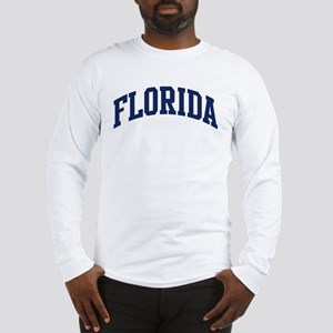 Blue Classic Florida Long Sleeve T-Shirt