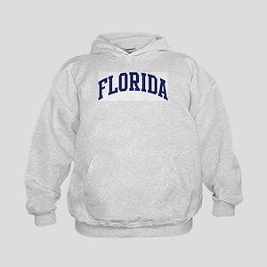 Blue Classic Florida Kids Hoodie