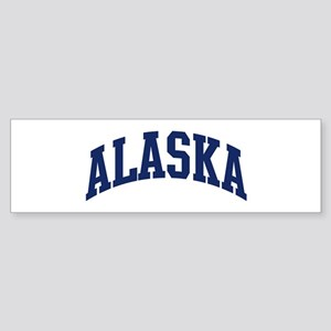 Blue Classic Alaska Bumper Sticker