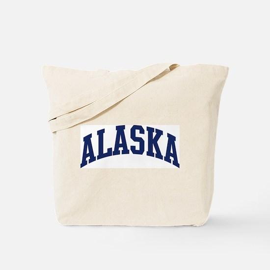 Blue Classic Alaska Tote Bag