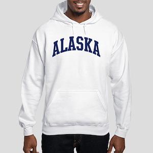 Blue Classic Alaska Hooded Sweatshirt