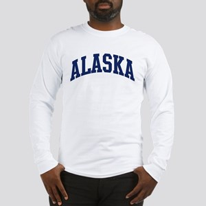 Blue Classic Alaska Long Sleeve T-Shirt