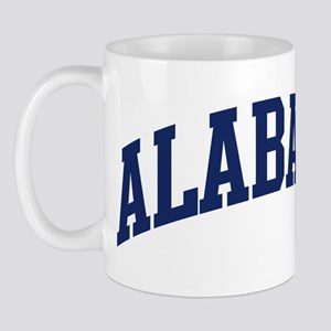 Blue Classic Alabama Mug