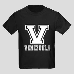 Venezuela Designs Kids Dark T-Shirt