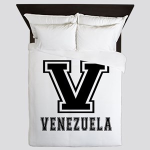 Venezuela Designs Queen Duvet